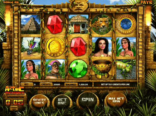 aztec-treasures-pokie-game